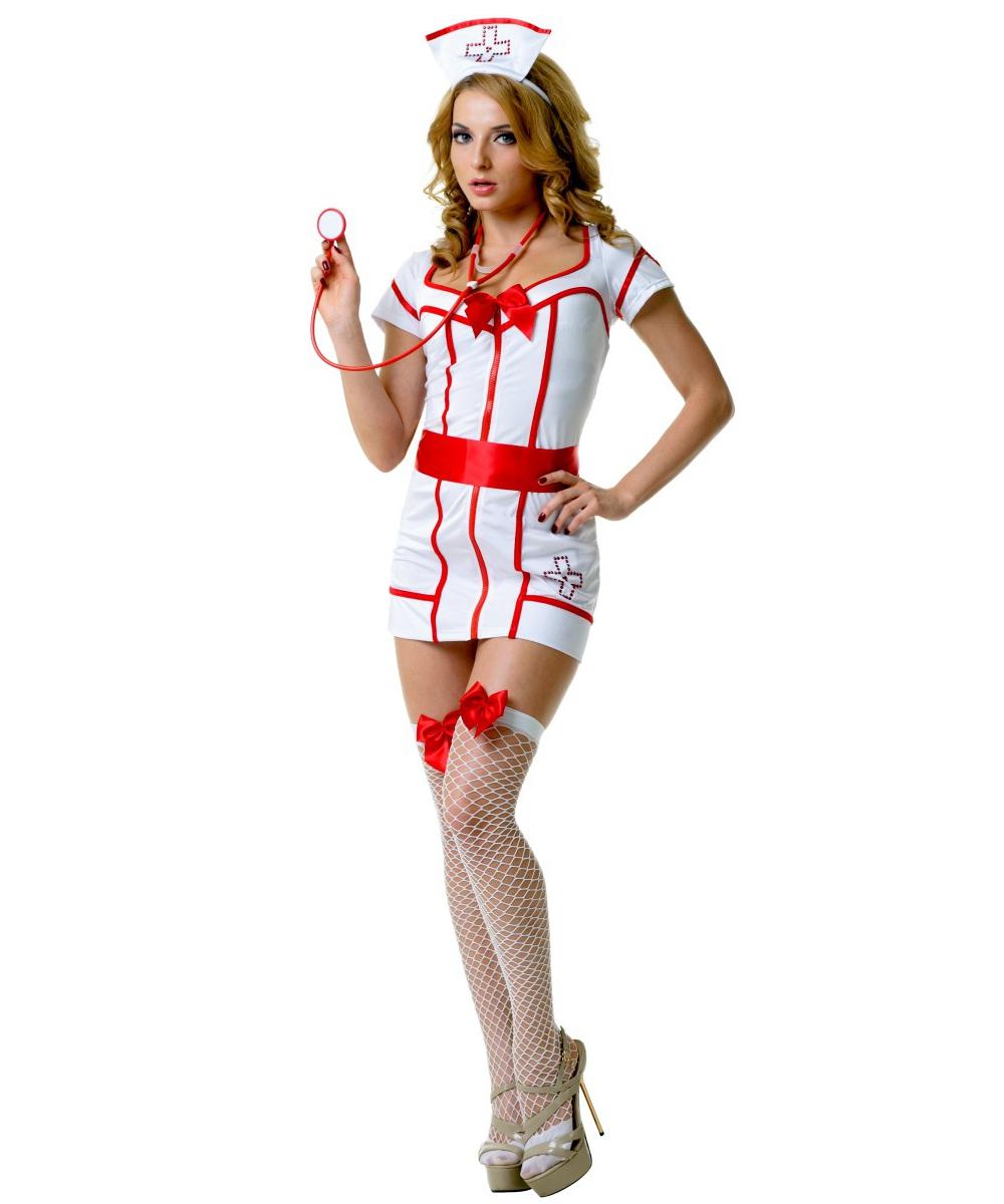 Купить Костюм медсестры сексуальный доктора игровой