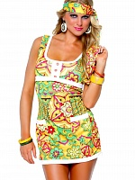 Костюм хиппи Far Out Hippie Leg Avenue 83547 с доставкой